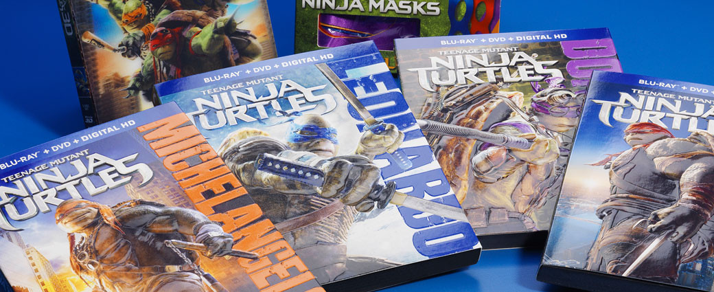 Ninja Turtles DVD box set printing