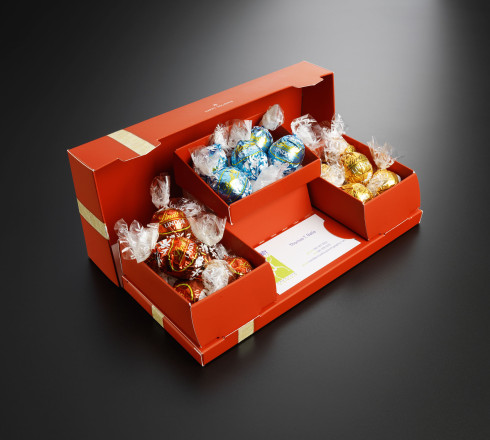 Custom box packaging for candy