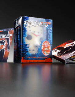 Friday the 13th DVD collection custom packaging design
