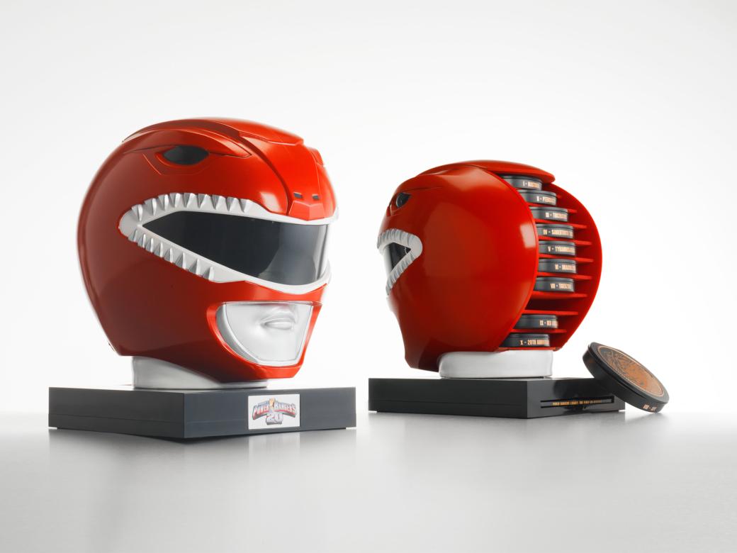Red Ranger Custom DVD packaging