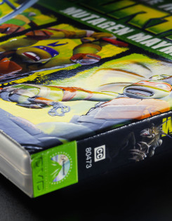 TMNT DVD cover packaging design