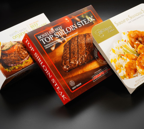 custom product packaging for meat products