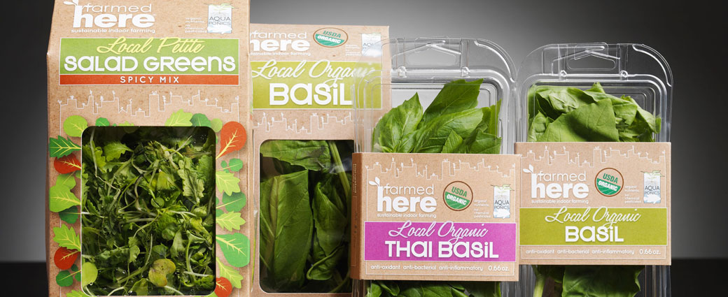 sustainable packaging solution for organic food products