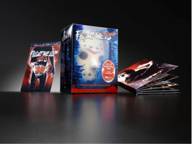 Friday the 13th DVD collection packaging design