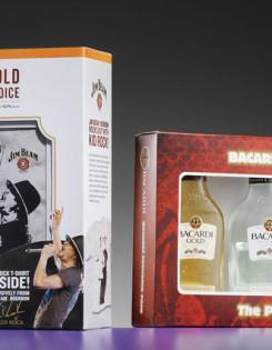 custom packaging design for liquors