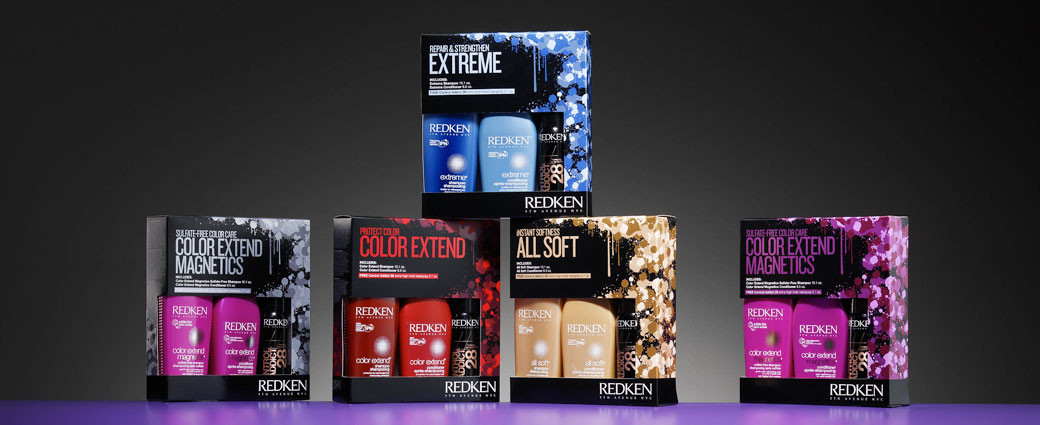 unique beauty product packaging for Redken