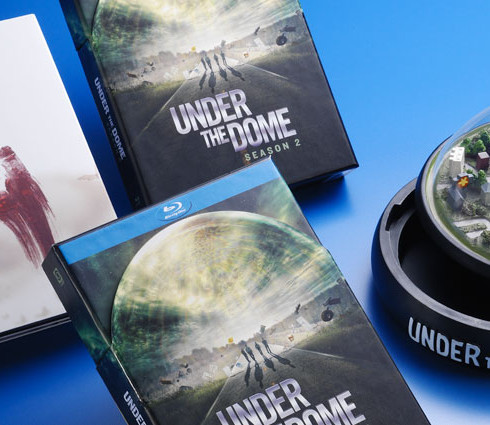 Under the Dome DVD packaging