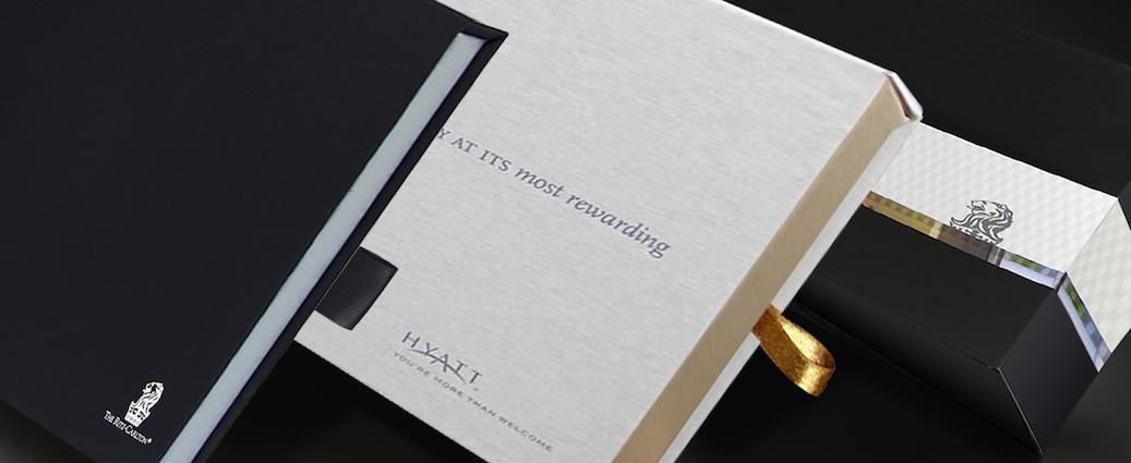 loyalty welcome kit printing for Hyatt