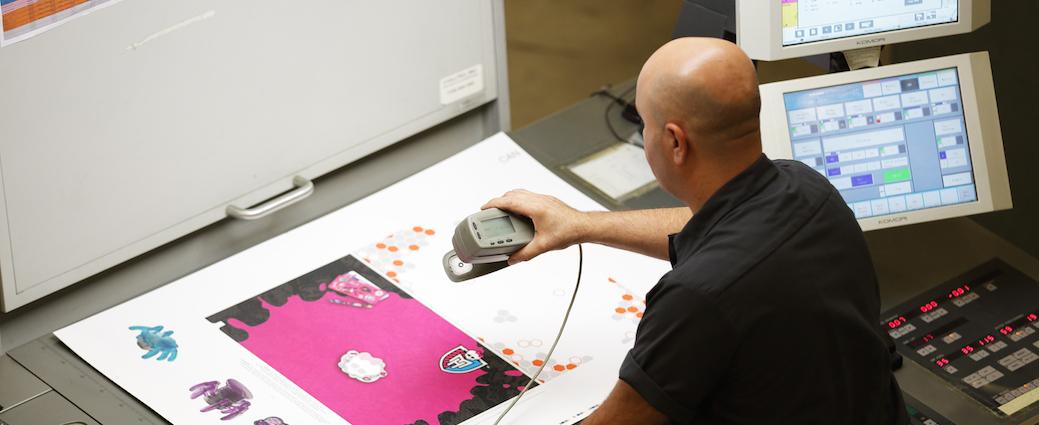 print press quality control specialist
