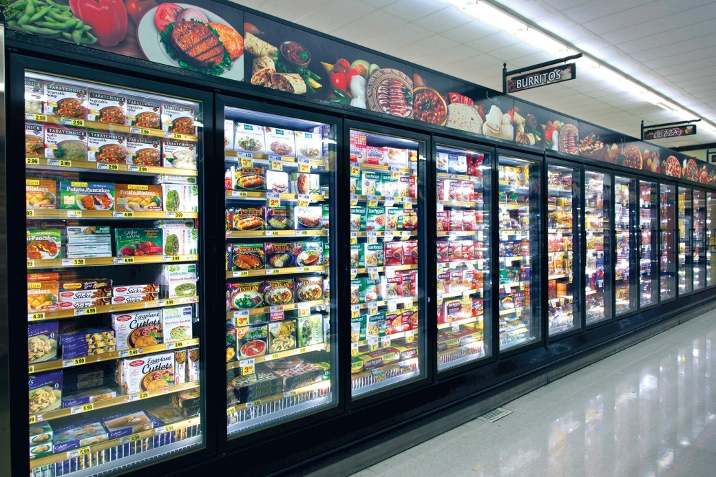 frozen food aisle