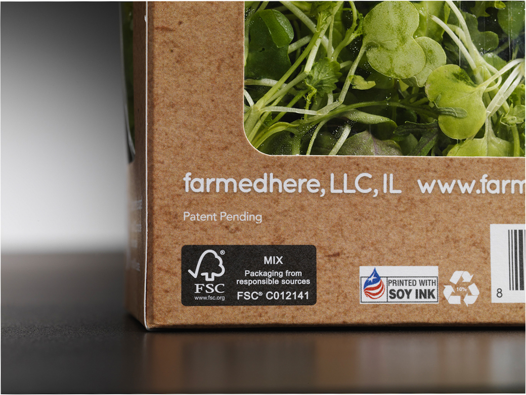 Sustainable recycled paperboard packaging