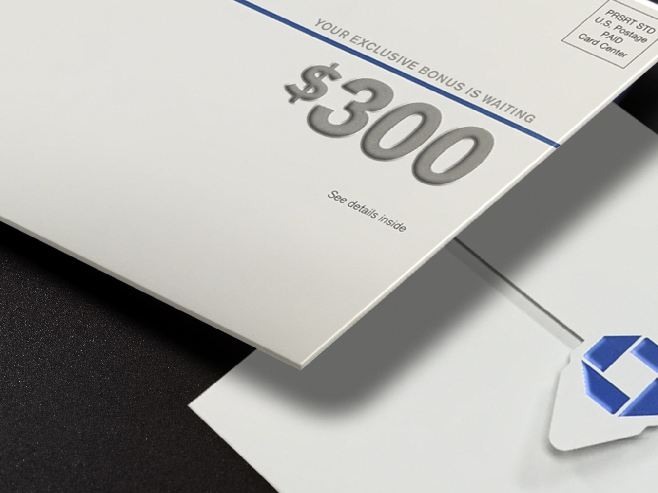 direct mail embossing for banks