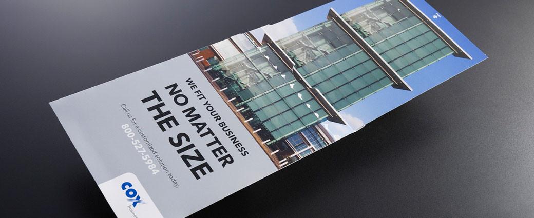 Cox brochure piece design