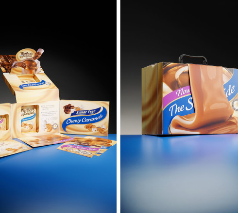 An interactive folding carton packaging
