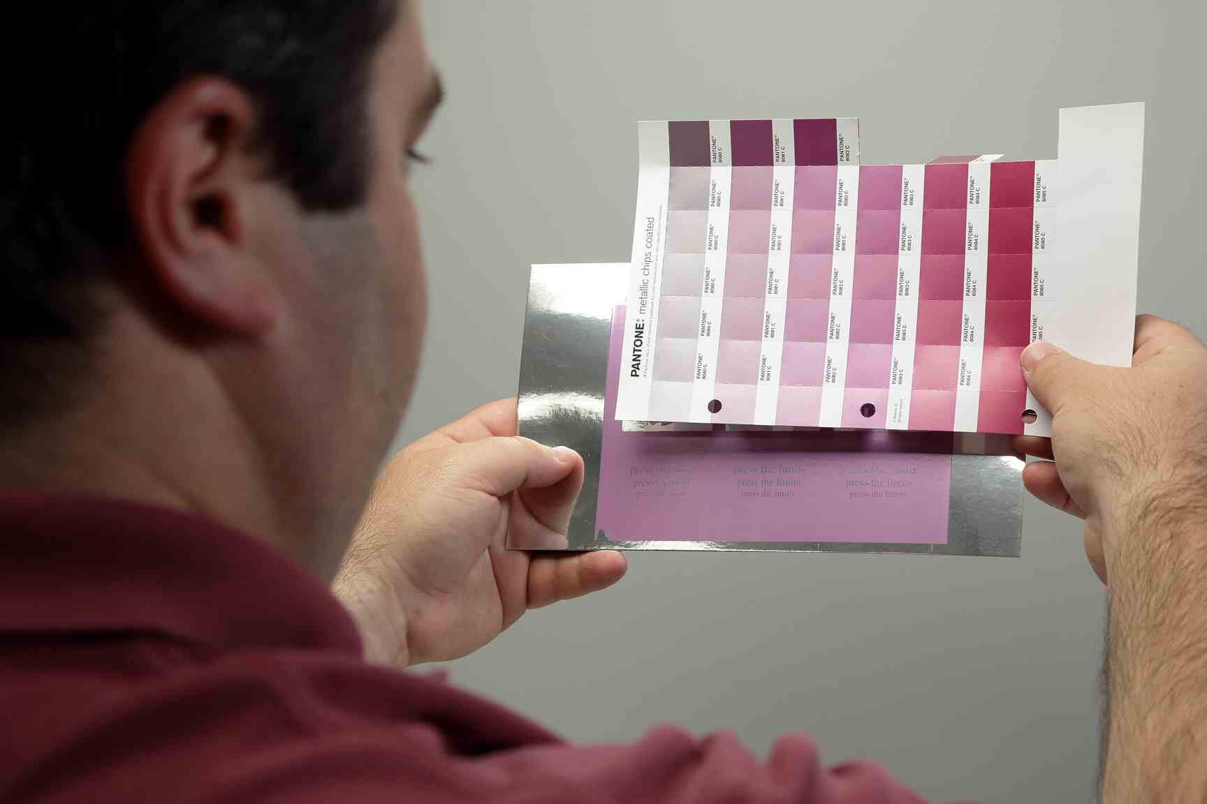 A digital printer can simulated coatings onto a hard proof,