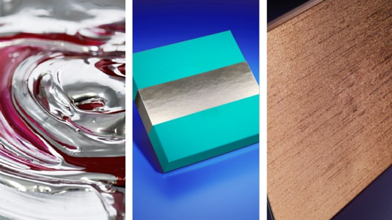 Metallic-inks for printing presses
