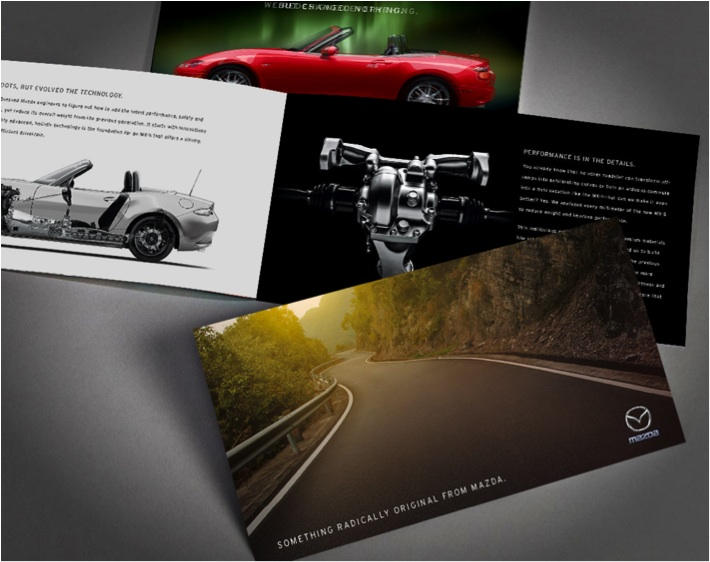 Direct mail highlights automotive deals and promotions