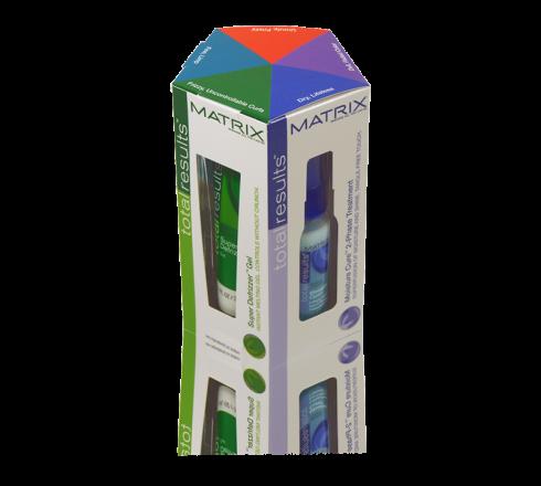 Matrix custom packaging box