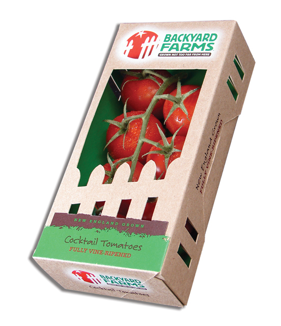 food packaging for tomatoes