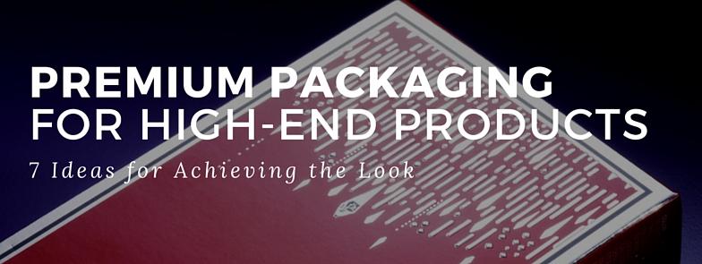 Premium Product Packaging