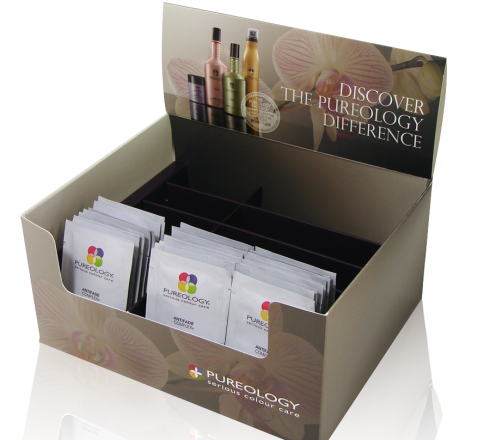 Pureology Packette Holder Open