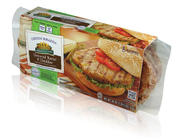 Harvestland-printed food packaging sleeve