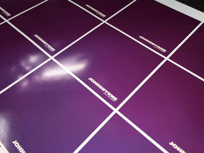 colorful direct mail printing sheet