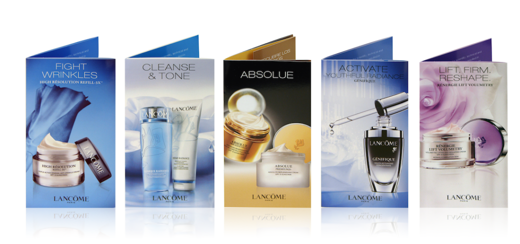 lancome-brochure-set-of-6