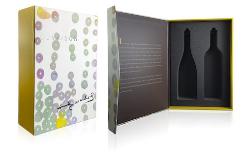 Cuvaison - Andy Warhol Winery Packaging.
