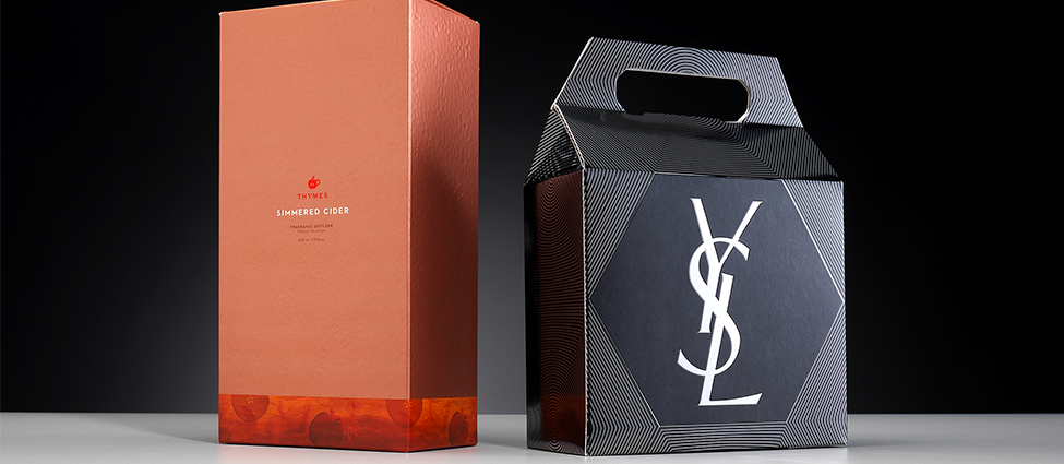 premium promotional fragrance packaging