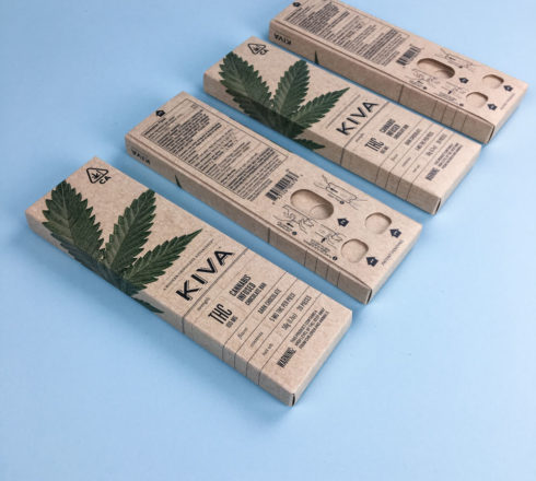 Cannabis Child Resistant Packaging - Kiva